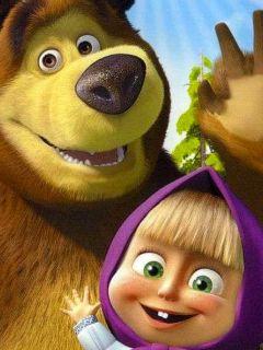 Смотреть онлайн: Маша и медведь.